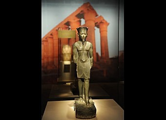 Statue of Amun from Ancient Kemet (Egypt)