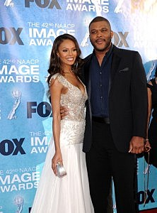 Tyler Perry at the 42nd NAACP Image Awards