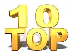 The Top Ten Songs on WBLK