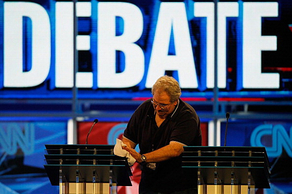 Debate, Joe Raedle, Getty Images