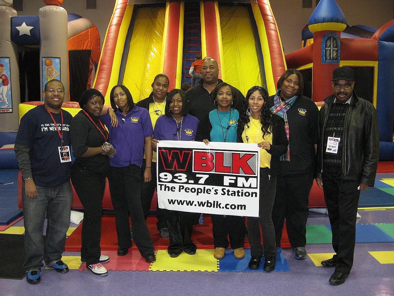 WBLK Visits The Kingdom Kids Family Fun Center