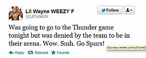 Lil Wayne Tweet