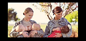 Military Breastfeeding Pic