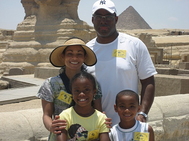 REYNOLDS FAMILY AT HOREMAKET THE GREAT SPHINX
