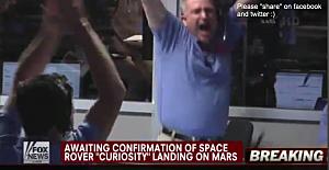 Mars Landing Celebration