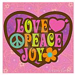 Love. Peace & Joy