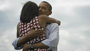 President Re-Elect Barack Obama & Michelle