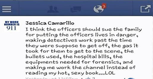 Controversial 911 Dispatcher Facebook Post