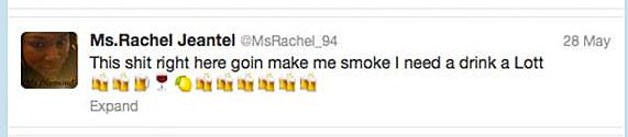 Rachel Jeantel Tweet