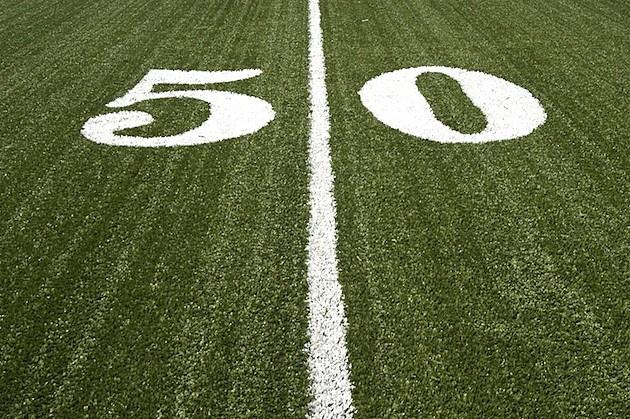 50 Yard Line - Credit- iStockphoto - 135199028