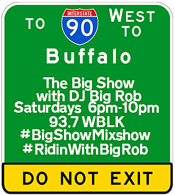 DJ Big Rob in The Big Show Mixshow on 93.7 WBLK