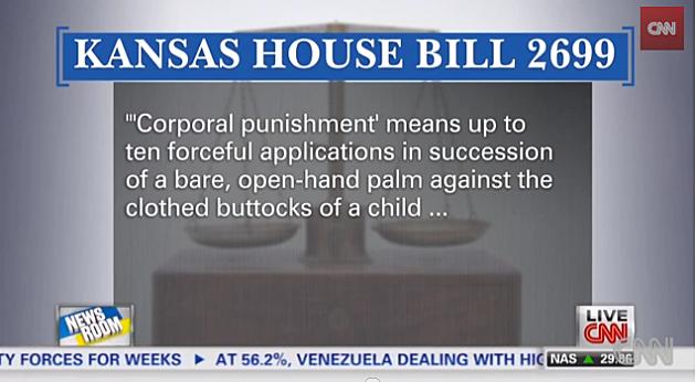 Kansas Spanking Bill