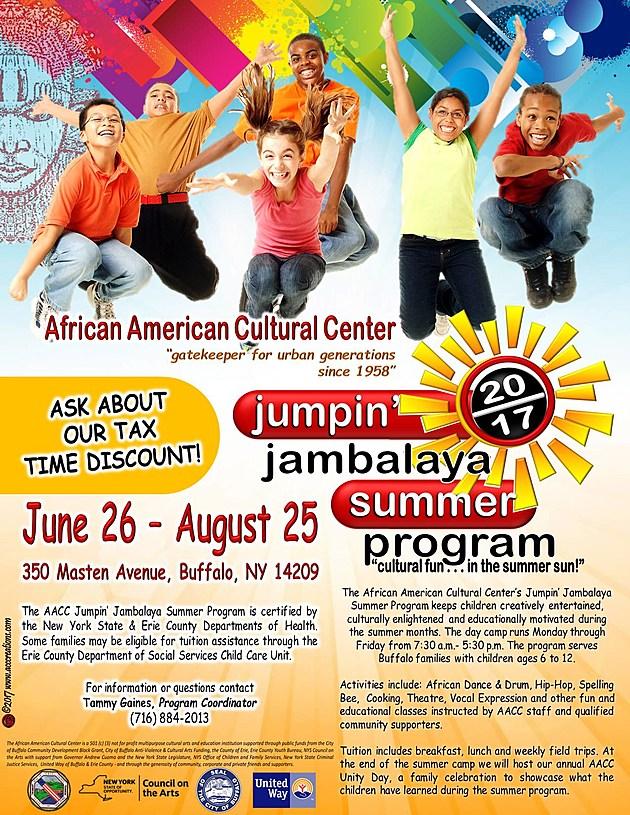 a Jumpin' Jambalaya '17 flyer
