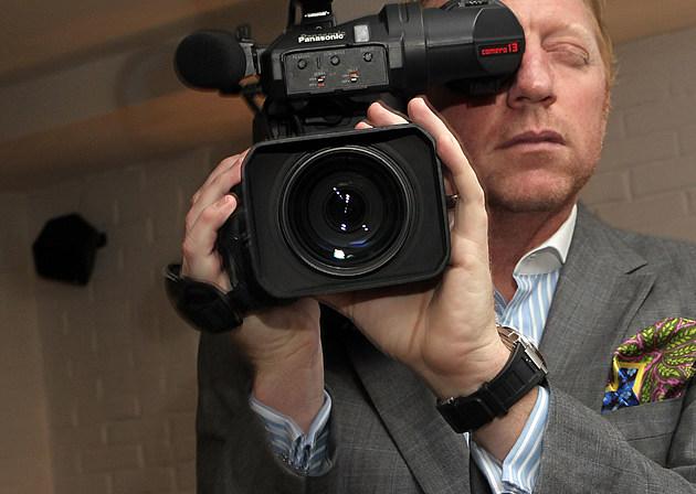 Boris Becker Presents Relaunch Of Boris-Becker.TV
